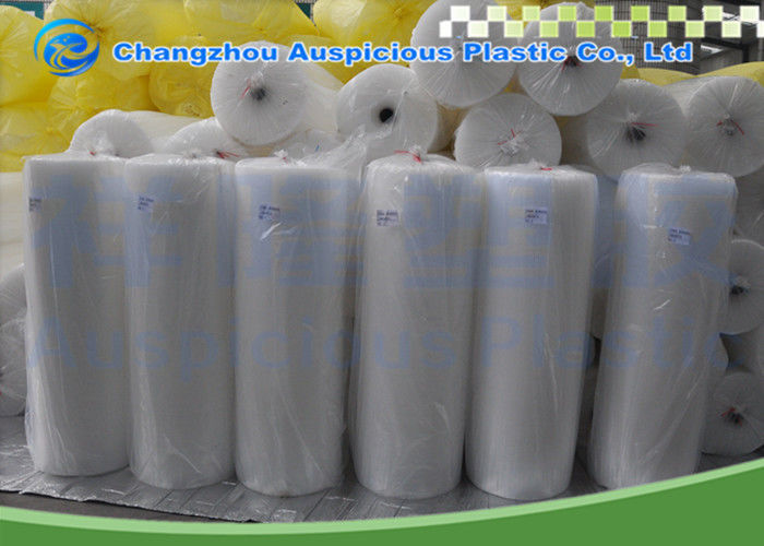 Transparent Bubble Packing Roll , Packing Bubble Wrap For Goods Damage Prevention